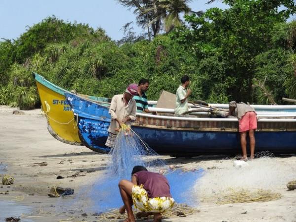 рыбаки на гоа