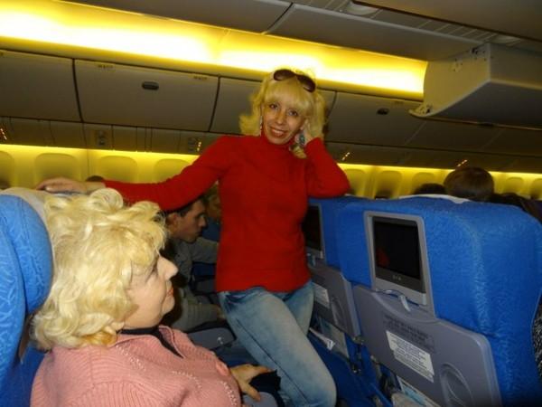 я в самолете на Гоа