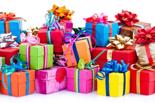 море подарков коробки