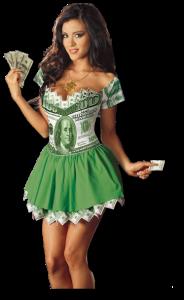 дама доллар