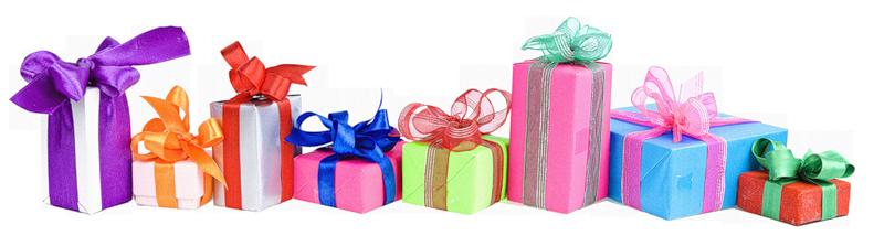 Какие подарки в модераторе